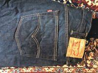 Levi 501 Blue denim jeans