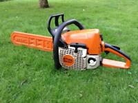 Stihl MS230 Chainsaw Very Nice MS 230 Chain Saw