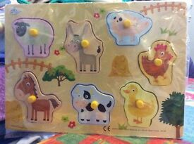 Baby animal puzzle