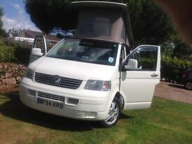 T5 4 berth camper with seat belts plus awning 2004
