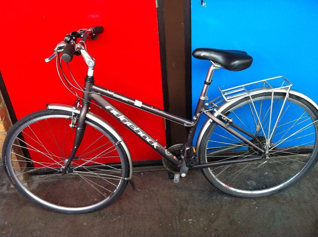 Ridgeback Comet Ladies Womans Hybrid Road Trek Bike 17 Inch 43cm