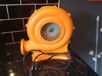 Bouncy castle blower only used once in mint condition (blower only) £25 no offers