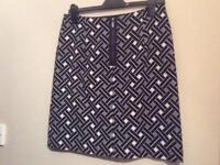 M & S A-line skirt.