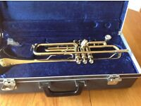 Trumpet for sale. Boosey and Hawkes in hard carry case