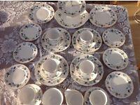 Colclough Linden Tea Service