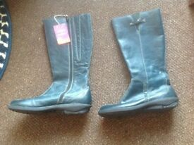 Moshulu Ladies Boots Size 41 Blue