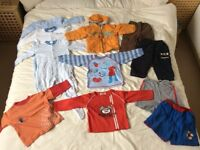 18-24mth bundle baby boy clothes in good condition:- a Halloween top, Iggle piggle top & a jacket