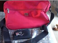 Pair of red travel bags BRAND NEW