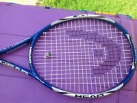 Head Tennis Racket and Cover
