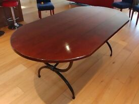 Solid Cherry Wood 6 Seater Dining Room Table