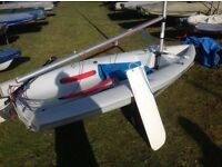 Laser pico sailing dinghy
