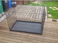 double extra large dog cage