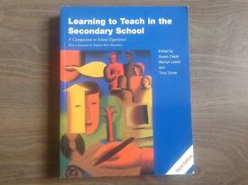 'Learning to Teach in the Secondary School' teacher training text book