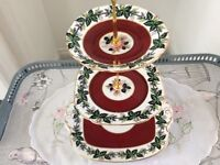 Windsor Bone China 3 Tier Cake Stand.