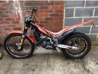 Beta evo 300 2012 road reg trials bike
