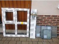Brand new UPVC double glazed cloakroom window