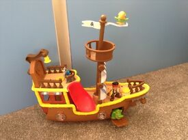 Jake and the never land pirates pirate ship