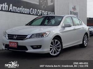 2015 Honda Accord Touring V6 $201 Bi-Weekly