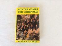 BUNTER COMES FOR CHRISTMAS - HARDBACK BOOK