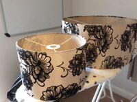 Pair of lampshades for sale