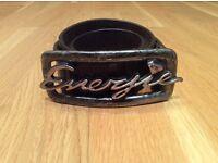 Energie belt leather
