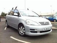 TOYOTA AVENSIS VERSO T3 2.0 D-4D 7 SEATER ONLY 1 PREVIOUS OWNER, MANUAL, DIESEL