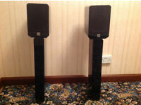 Q Acoustics Concept 20 Speakers and Stands