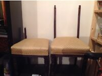 2 X broken chairs