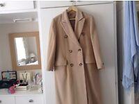 Basler Ladies camel coat.