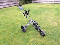 Golf trolley (Powercaddy 3 wheel)