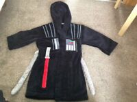 Darth Vadar dressing gown, age 4-5