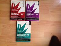 UK Law Exam Revision Textbooks