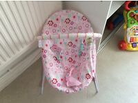 Baby bouncer hardly used