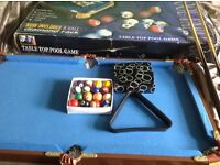 Kids small pool table just £15
