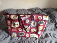 Cath Kidston Tote bag Leather trim and handles