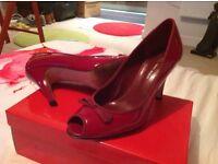 2 x pairs of ladies high heel shoes