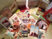 A collection of over 20 Cook Books for just £4