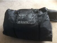 Sprayway vally 4 tent in good condition. Has a footprint. Is a lovely looking tent.
