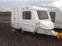 2006 Freedom Streamline Twin - 2 berth caravan - towable by the smallest car