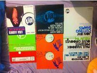9 x new Tidy Trax Hard House vinyl