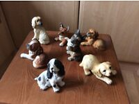 HHH dog figurines, excellent condition