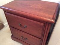 Excellent condition. Real wood. 2 Drawers. Perfect for hall, lounge or bedroom. 2 available.