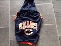 New York Bears Medium/Large Dog Hoody Outfit