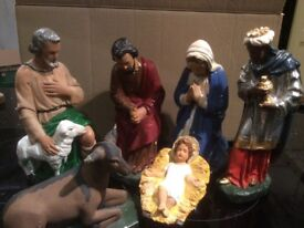 Large Nativity Set £40