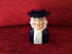 Blue & White Vintage Pepper Pot by Wood & Sons England