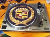 direct drive turntable use by dj's