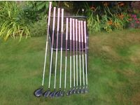 Ladies Ping Rhapsody RH Driver,Woods and Irons