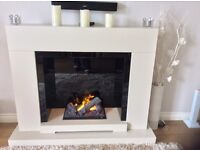 High spec fire and surround with remote control