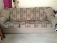 2 & 3 Seater Sofas excellent condition