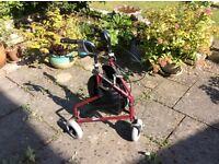 Lightweight Tri Wheel Walker £14.99